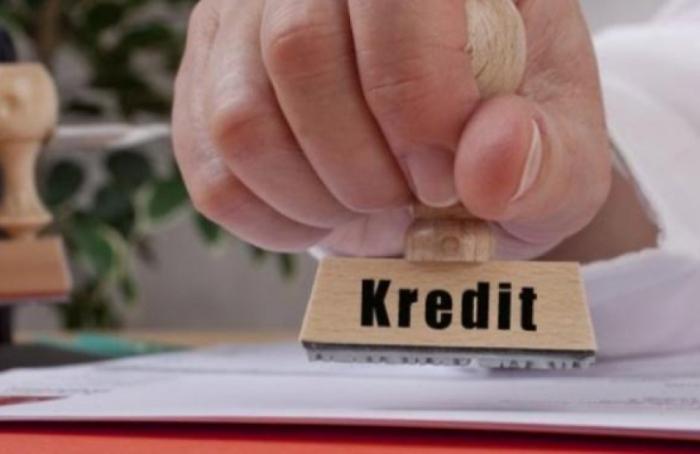 İqtisadiyyata kredit qoyuluşu azalıb