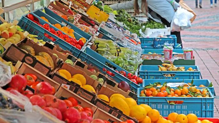 Lebensmittelpreise eilen der Inflation davon