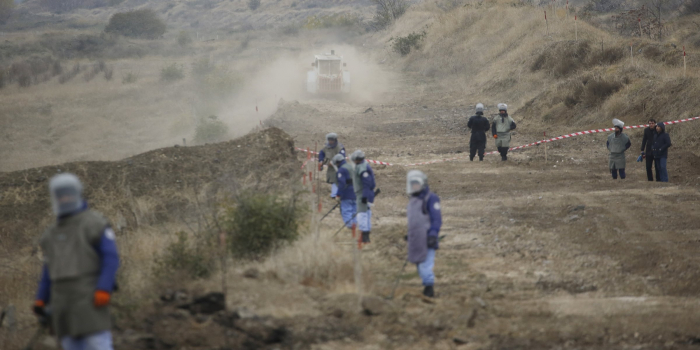 Azerbaijan demines thousands of hectares of cultivatable land in liberated districts