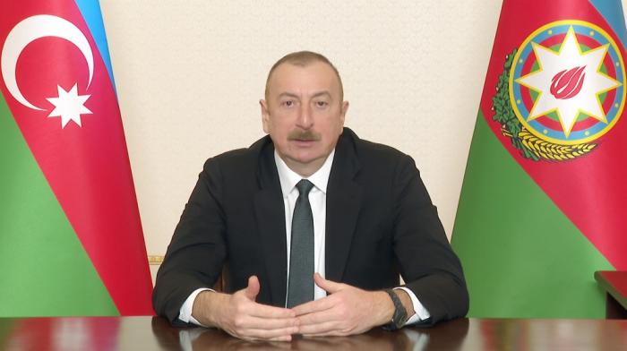 """Ilham Aliyev:  """"El uso de satélites nos dio una gran ventaja"""""""