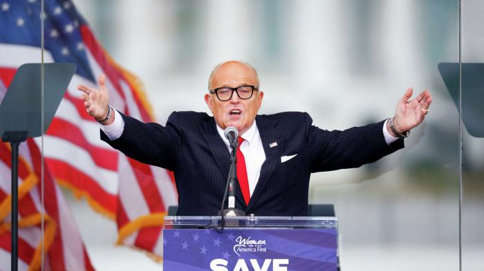 Dominion verklagt Trump-Anwalt Giuliani in Milliardenhöhe