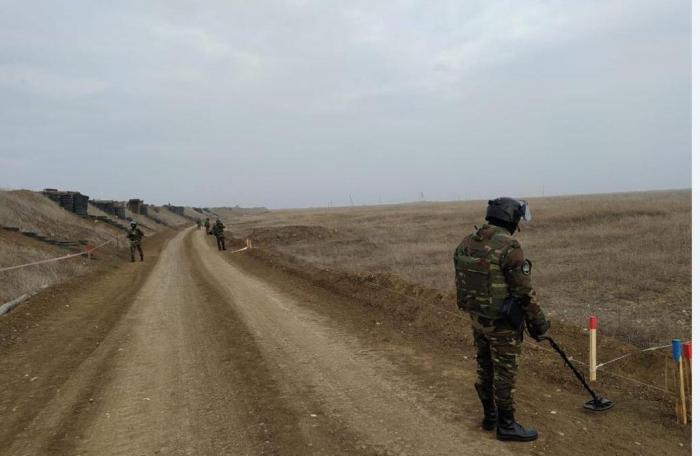Trois hectares de terrain ont été complètement déminés dans les territoireslibérés -  VIDEO