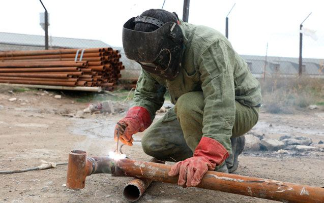 Preparations started on laying gas lines in Azerbaijan