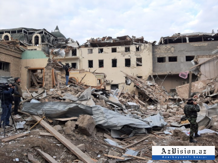 Nine schools damaged during the Ganja terror
