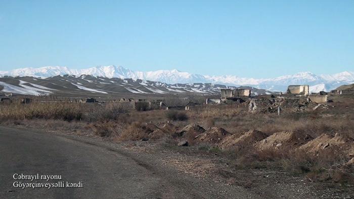 Goyarchinveysalli village of Azerbaijan's Jabrayil district –   VIDEO