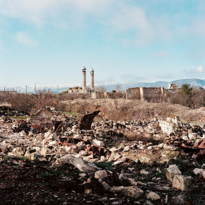 National Geographic publishes photo from liberated Aghdam district of Azerbaijan