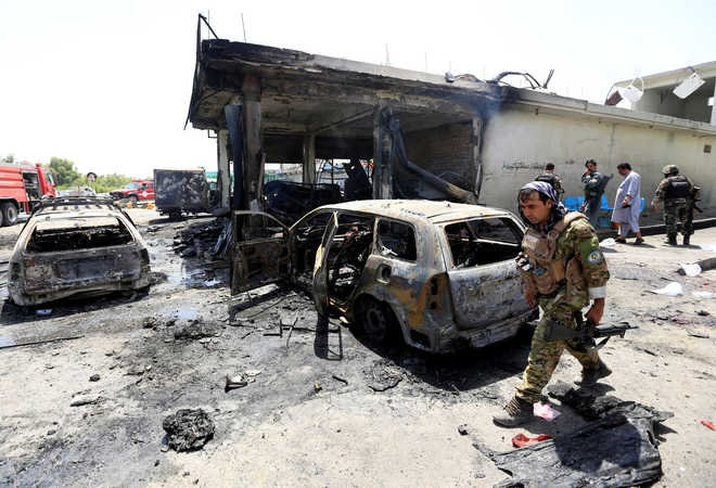 Car bomb kills 8 soldiers in E. Afghanistan, Taliban claims responsibility