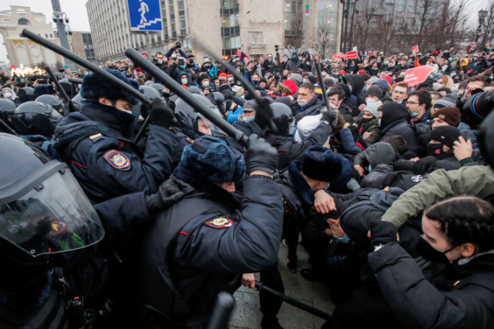 Russia braces for new protests against jailing of Navalny