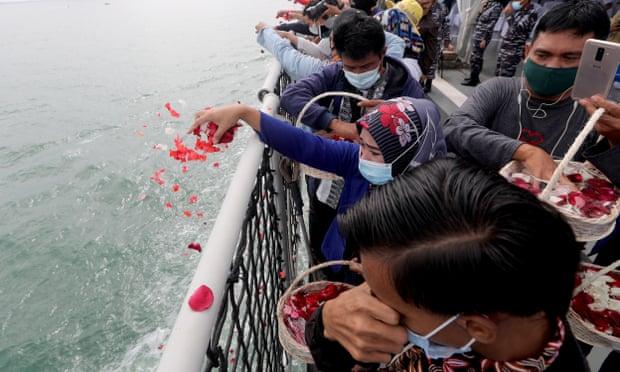 Indonesian plane crash victims