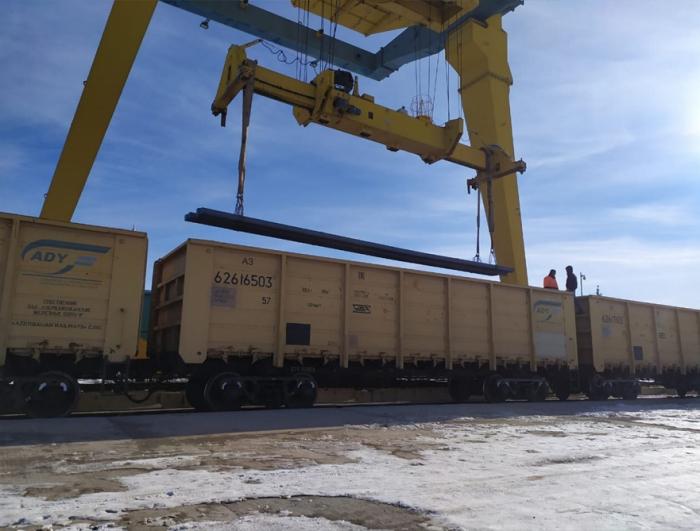 First export-oriented cargo delivered to Turkey via BTK railway