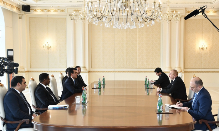 President Ilham Aliyev receives delegation led by ISESCO Director General - UPDATED