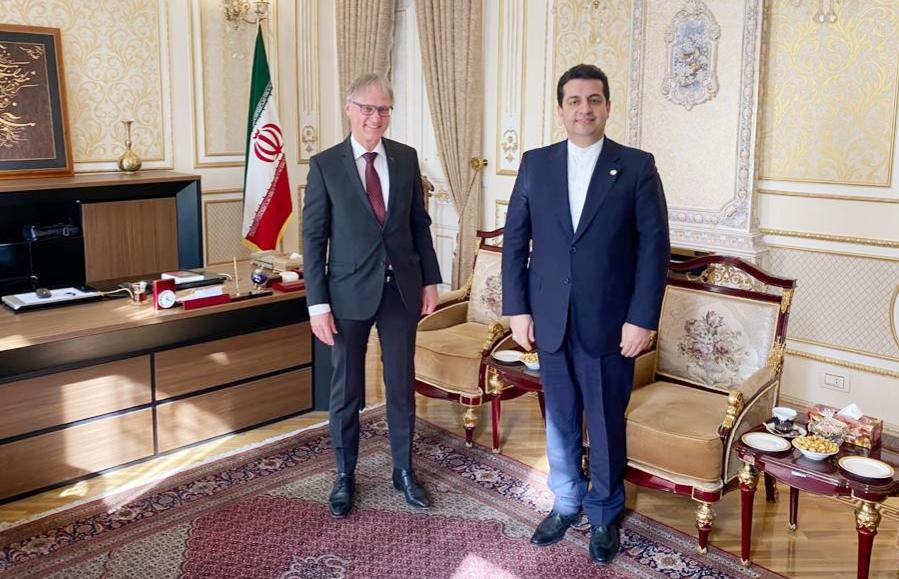 Iranian, German envoys to Azerbaijan mull Karabakh issue