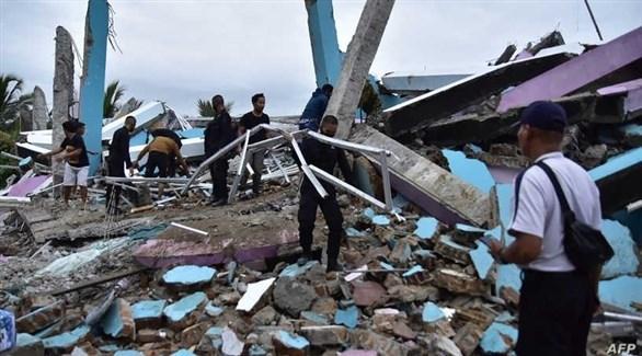 هزة ارتدادية في أعقاب زلزال اندونيسيا
