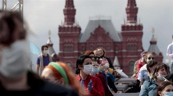 روسيا تسجل 580 وفاة جديدة بكورونا