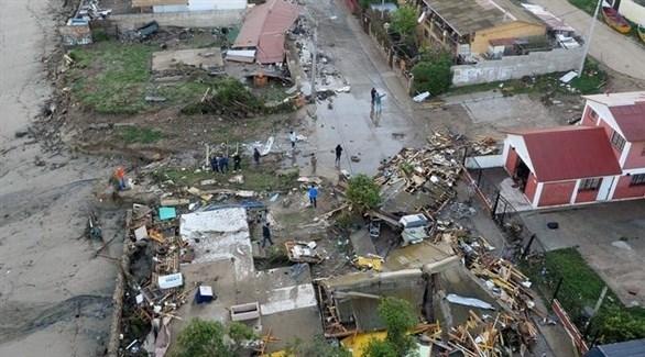 """تشيلي: زلزلان يضربان والسلطات تعتذر عن """"الرسالة المرعبة"""""""