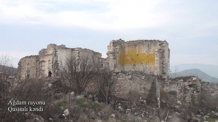 لقطات من قرية قاسملي بأغدام -   فيديو