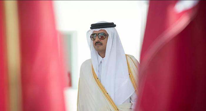 أمير قطر يستقبل وزيري الداخلية في عمان والأردن