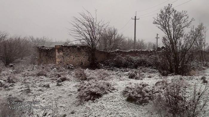 لقطات قرية أشاغي مراليان في جبرائيل -   فيديو
