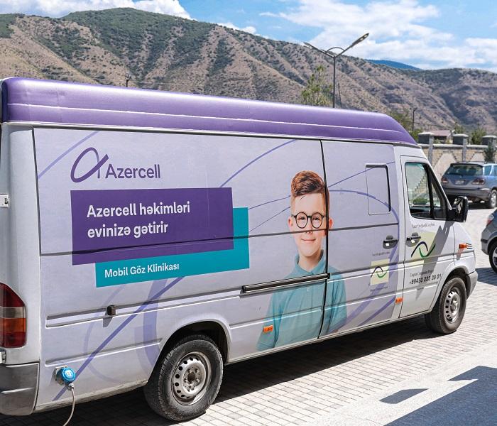 Azercell-in Mobil klinikaları yüzlərlə insana təmənnasız xidmət göstərib