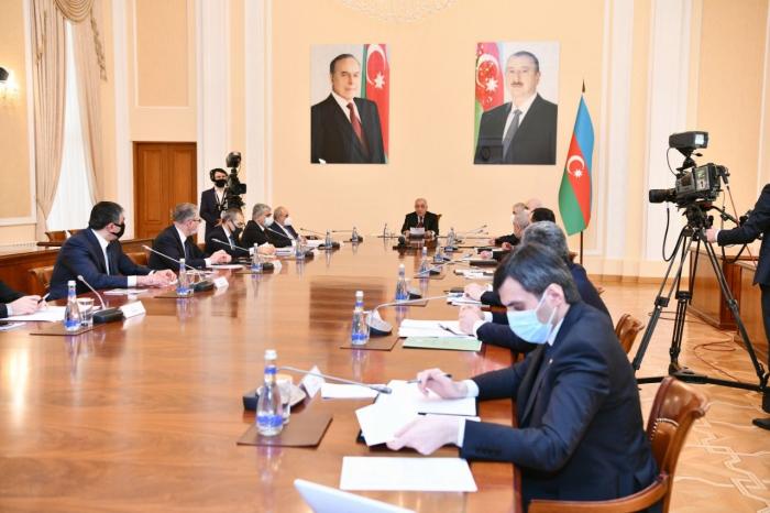 Nazirlər Kabineti 2021-ci il üçün prioritetləri müəyyənləşdirdi