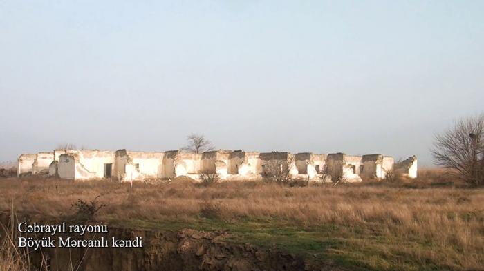قرية بويوك مرجانلي بمنطقة جبرائيل -   فيديو