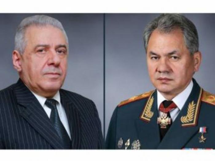 Choïgou a discuté du Karabagh avec son homologue arménien