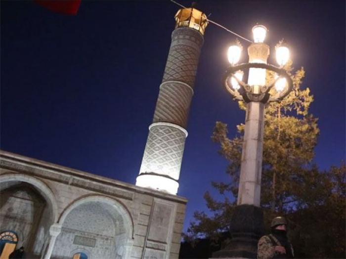 Şuşa şəhəri elektrik enerjisi ilə təchiz edildi -