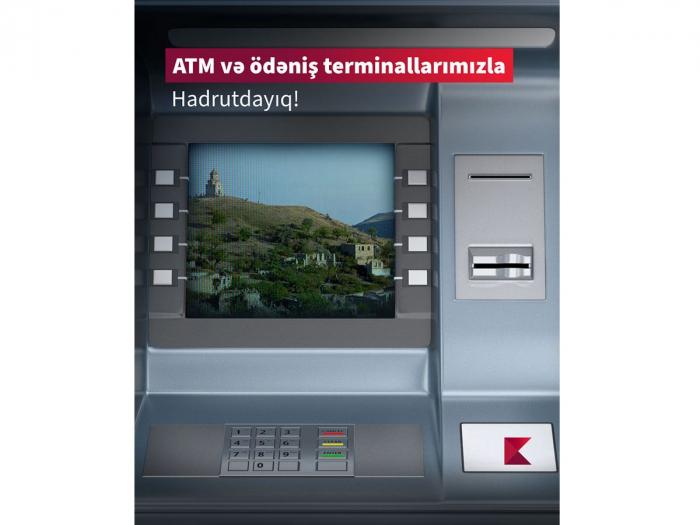 Kapital Bank Hadrutda bankomat quraşdırıb