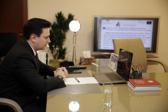 El Palacio Heydar Aliyev y la Orquesta Sinfónica de Bilkent examinan la cooperación bilateral