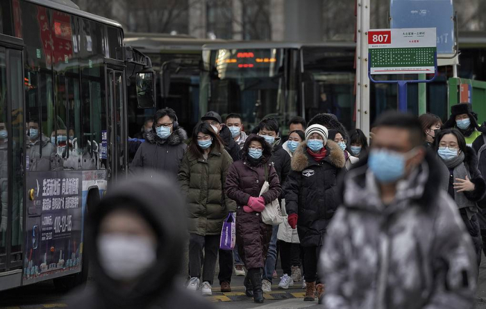 China reports first COVID death in months