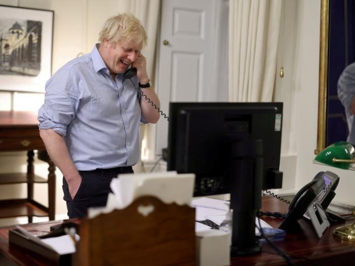 Boris Johnson et Joe Biden tiennent leur première conversation téléphonique