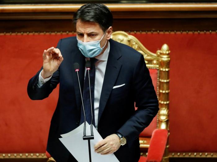 Le président du Conseil italien Conte prêt à démissionner pour former un nouveau gouvernement