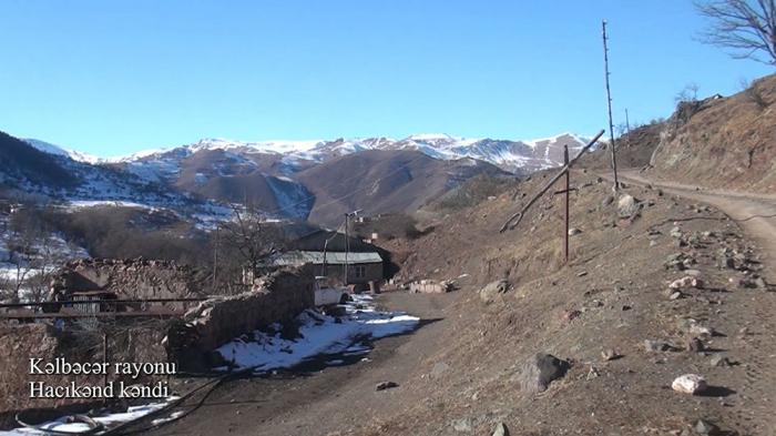 لقطات من قرية حاجيكاند في كلبجار - فيديو