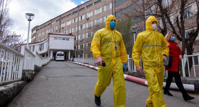 Ermənistanda koronavirusa yoluxma sayı 165 mini ötdü