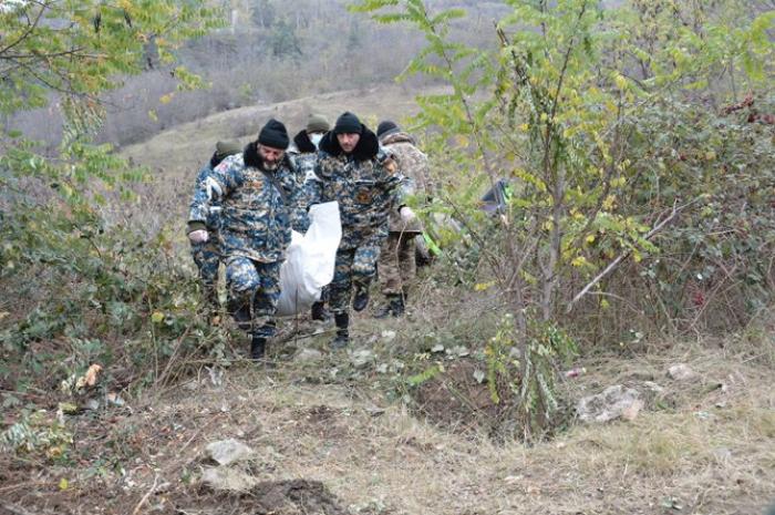 العثور على جثث 1232 جنديًا أرمنيًا في كاراباخ