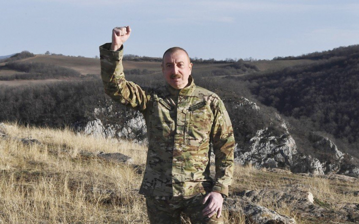 """There is no city called """"Shushi"""", there is Shusha - Ilham Aliyev"""
