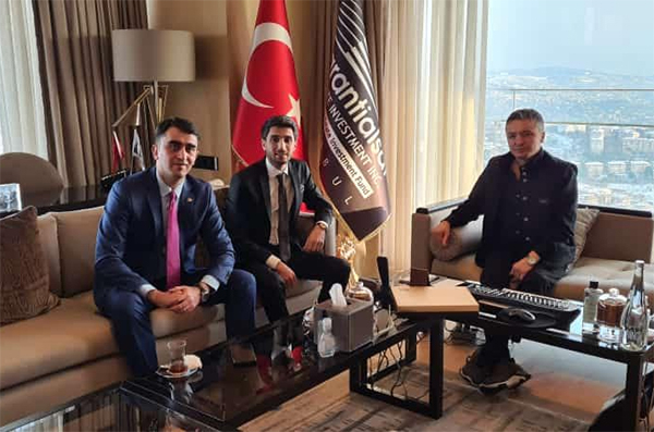 Gənc sahibkarlar Türkiyədə iş adamları ilə görüşüblər
