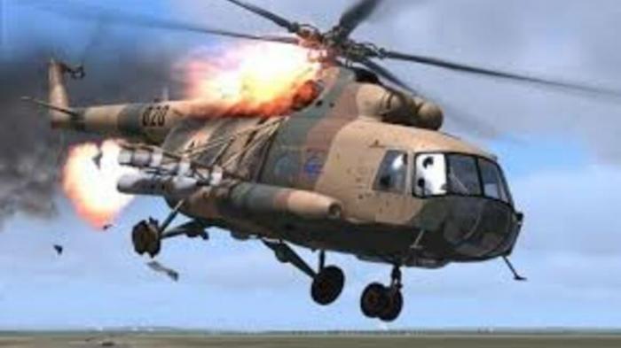 Filippində hərbi helikopter qəzaya uğradı -   Ölənlər var