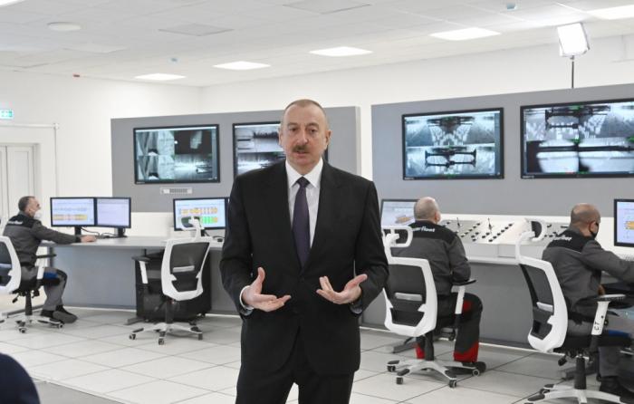 """Ilham Aliyev:   """"La restauración de la región de Karabaj es una prioridad en mi agenda"""""""