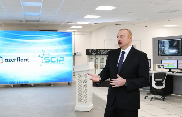 """Ilham Aliyev:  """"Todo en las tierras liberadas debe hacerse de manera planificada"""""""