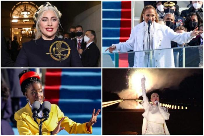 Lady Gaga, Jennifer Lopez et Katty Perry se produisent à l