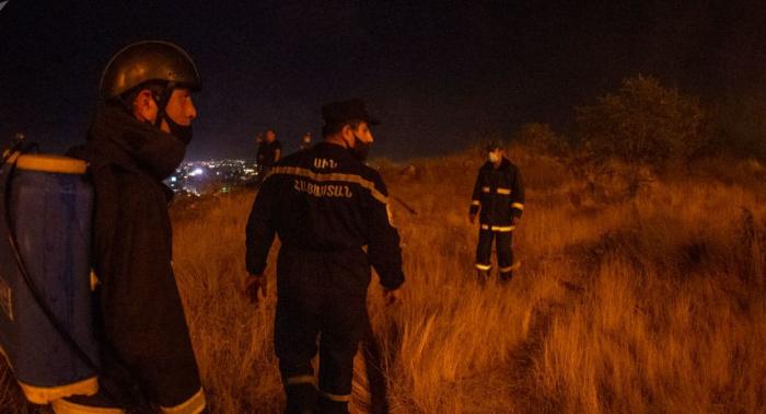 Mehri yaxınlığında partlayış:  İki erməni yaralandı