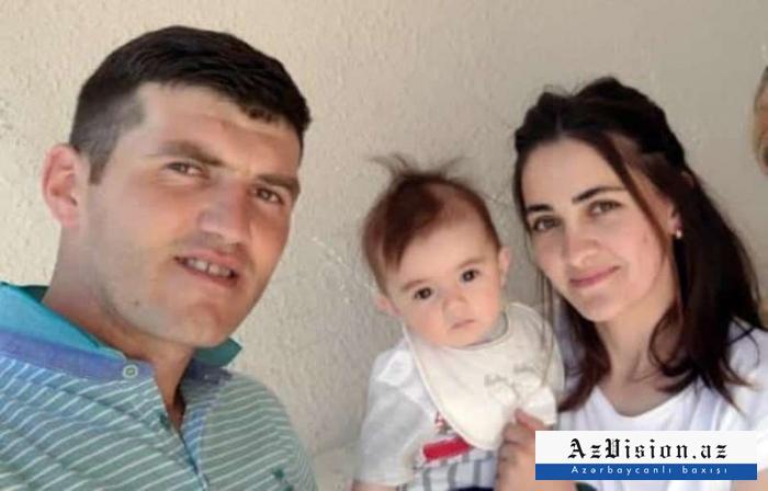 """Şəhidin xanımı:  """"Xəbəri eşidəndə donub qaldım, ağlaya da bilmədim"""" -  VİDEO+FOTOLAR"""