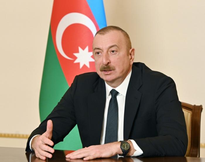 """Ilham Aliyev:   """"Se debe seguir mis instrucciones hasta el final"""""""