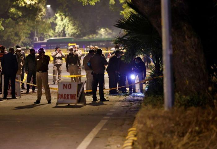 Small bomb explodes near Israeli embassy in New Delhi