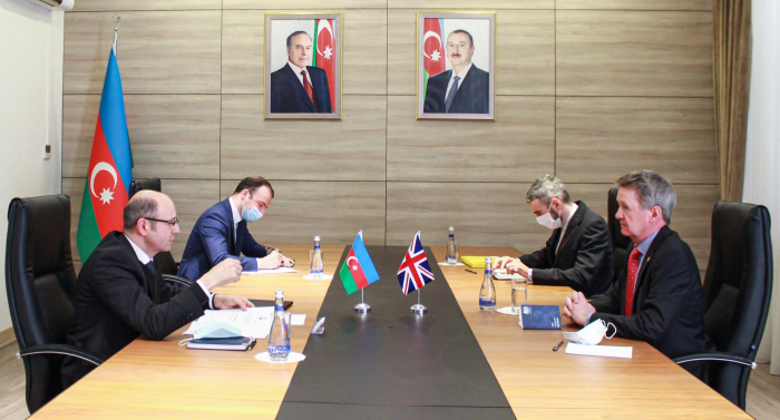 UK companies are interested in the restoration work in the liberated territories of Azerbaijan