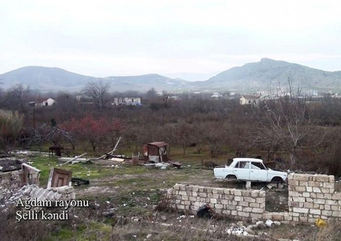 Imágenes del pueblo de Shelli de Aghdam -   VIDEO