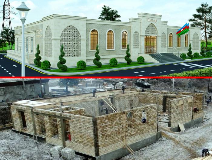 بناء محطة فرعية جديدة في شوشا -  صورة