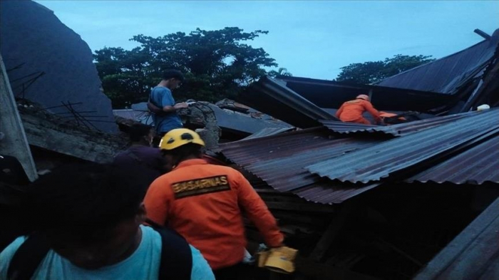 Death toll rises to 34 in Indonesia earthquake