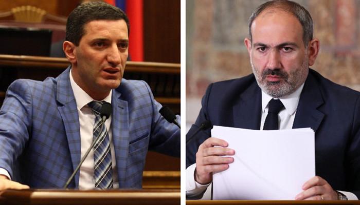 """""""Nə oldu Paşinyan, Şuşanın sağlığına içirdin?"""" -   Erməni deputat"""